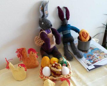 strikking til påske