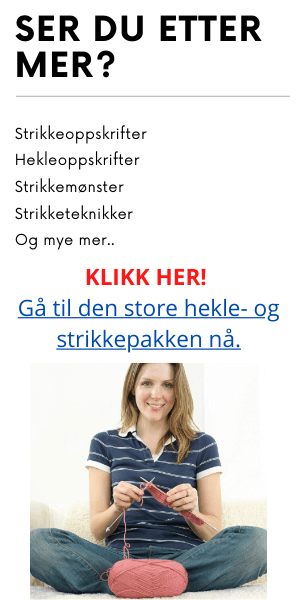 hekle og strikke guide